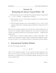 Lecture_11_Estimating_the_Linear_Causal_Model_III