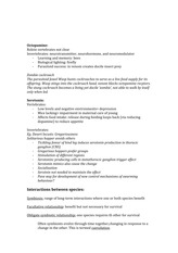 Study Guide Octopamine