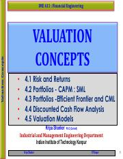 IME611 - 4.3 Portfolios -  Efficient Frontier and CML