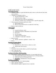 Exam 2 Study Guide BSCI202