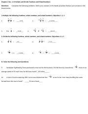 2.3 Multiply and Divide Fractions and Mixed Numbers(1)