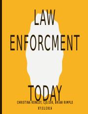 Law Enforcement Today Presentation