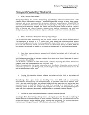 biological psychology worksheet university of phoenix Biological psychology worksheet psych/575 version 3 1 university of phoenix material biological psychology worksheet answer the following questions with 50-to 100-word responses prepare to.