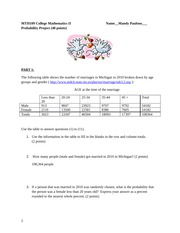 Probability Project (1)