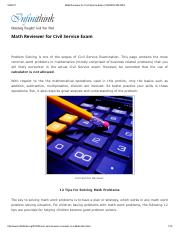 Math Reviewer for Civil Service Exam _ INFINITHINK.pdf