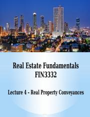 FIN3332-Lecture 4-Real Property Conveyances-F16-BB.pptx
