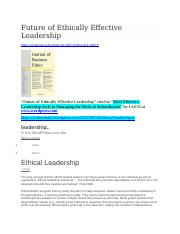 ETHICS-FEEL-cited at WordPress-Leadership-Ethical Leadership