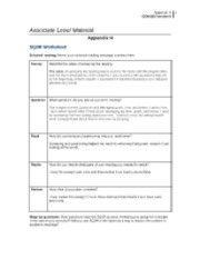 appendix h sq3r worksheet Draft schedule lps 2 - free download as word doc (doc / docx), pdf file (pdf), text file (txt) or read online for free.