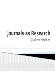 Week 10- Journals as Research (1).pptx
