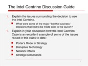 Intel Discussion Guide