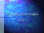 foragers h-g ch11