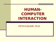 3.Human-Computer Interaction.ppt