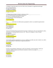 Review Quiz Week 9 Organising (solutions).docx