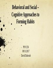 Behavioral and Social-Cognitive Approaches to Forming Habits.pptx
