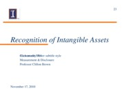 23_Recognition_of_Intangibles