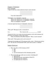 Worksheet Biomolecules Worksheet chapter 3 worksheet biology 310 2 pages worksheet