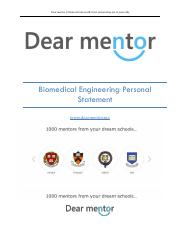 Biomedical Engineering Personal Statement.pdf