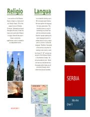 Serbia trifold Ap world project.docx