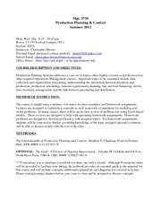 Mgt 3710 Syllabus (Revised 07-11-11)