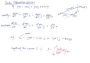 Notes on Vector Differentiation