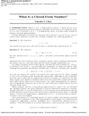What is a closed-form number.pdf
