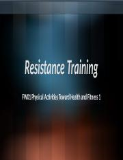 Resistance Training.pptx
