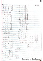 Regular matrices , lecture notes