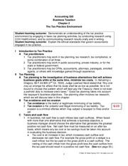 Chapter 2 Lecture Notes Classroom Spring 2015
