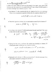 PHYS 244 - Practice Exam 1 Solution 2