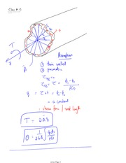 Class 17 Notes problems and solutions