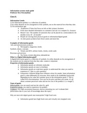 Study Guide Info systems Part I