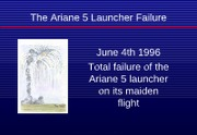 Ariane5failure