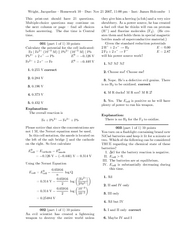 HW 10 Solutions
