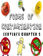 Chapter 2 Forms of Contamination