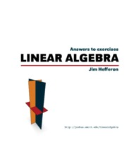 linear algebra answer