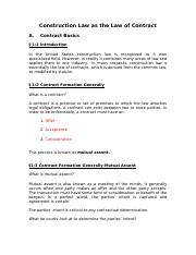 The Law of Contracts Week 3.docx