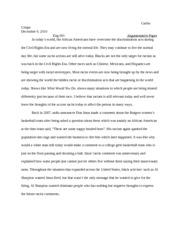 Crique of essay