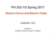 Lectures1-3 Electric forces and electric fields ch18.pdf