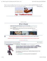 :tg: - What the appeal of cyberpunk gaming? The cyberwar - Traditional Games - 4chan