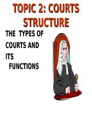 LAW 252 -2  COURTS.ppt