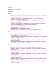 Chapter 18-19 Vocab Study Guide