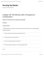 Chapter 28 The Woman with a Postpartum Complication.pdf