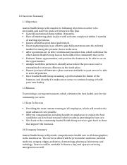Delbert Whiting Group Business Plan Section .docx