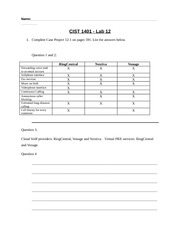 CIST1401 Lab12 - OLD