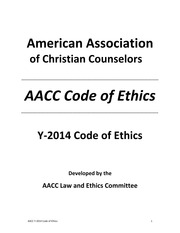 AACC Code of Ethics - Master Document