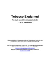 TobaccoExplained