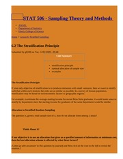 6.2 The Stratification Principle   STAT 506 - Sampling Theory and Methods