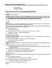 Top 20 Errors in Undergraduate Writing.pdf