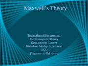 maxwell ppt