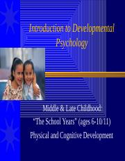 Middle+Childhood+Physical+_+Cognitive+Development